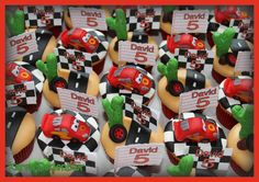 Cars cup cakes