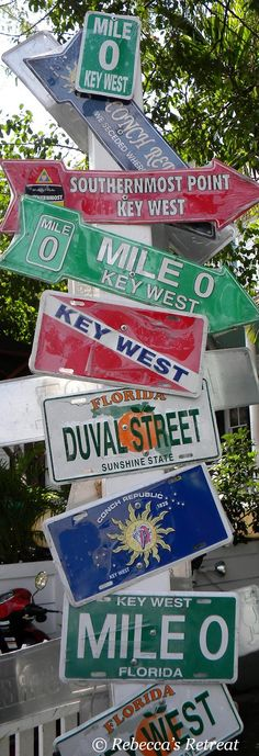 signs in key west - Google Search