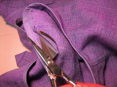Bind the armscye by Gigi Sews