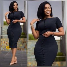 Unique and trendy Ankara styles for ladies 2019 ankara styles - Styles -. from Diyanu Next Previous Unique and trendy Ankara styles for ladies 2019 ankara styles – Styles – Unique and trendy Ankara styles for ladies 2019 Next Previous Classy Work Outfits, Office Outfits Women, Classy Dress, Chic Outfits, Fashion Outfits, Dress Outfits, School Outfits, Spring Outfits, Latest African Fashion Dresses