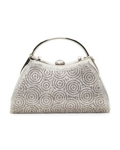 Shell Top Sparkle Clutch
