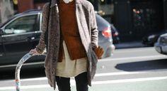 Trendy Street look in NYC