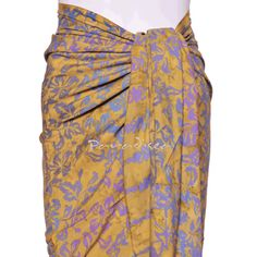 How to wear batik sheet as saroong Step by step  Fashion