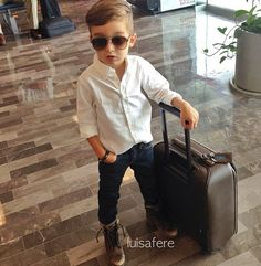 Boys fashion.  Casual look. Combat boots- for when Everett goes on road trips with Uncle Andy! HA!
