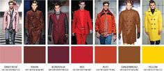 Image result for warm colors fashion