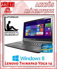 Új Lenovo Thinkpad Yoga 14 Ultrabook http://laptopbazis.hu/termek/uj-lenovo-thinkpad-yoga-14-ultrabook-14-fhd-erintokijelzo-intel-core-i75500u-ssd-8-gb-ddr3-windows-8/52