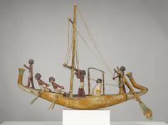 Ancient Egyptian Sailing Boat.