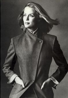 Lauren Hutton by Irving Penn. Still one of the greatest models of all time.