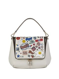Anya Hindmarch - Stickered-Up Maxi Zip Satchel