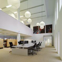 Moooi Non Random Lights used as Office Lighting Home Lighting Design, Lighting Sale, Moooi Lighting, Lighting Ideas, Office Lighting, Commercial Design, Office Interiors, Floor Lamp, Modern Design