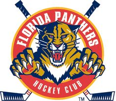Since the Florida Panthers have been Miami's team in the National Hockey League. Despite, going to the Stanley Cup finals in just their third NHL season, the Panthers have been a stranger to the post season for most of their existence. Florida Panthers, Custom Flags, Custom Banners, Pantera Logo, Hockey Logos, Sports Logos, Sports Teams, Nhl Logos, Panthers Hockey