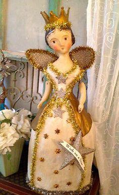 Vintage Style angel -nicol sayre