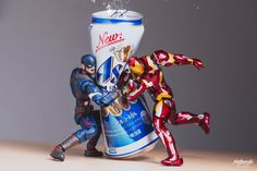 This photographer puts the 'action' in action figures