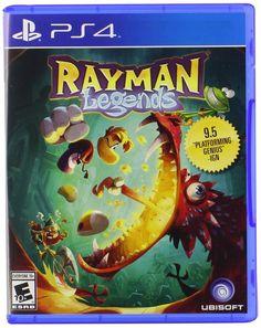 Rayman Legends (Nintendo Wii U, for sale online Wii U, Nintendo Wii, Nintendo Switch, Ps4 Games For Kids, Ds Games, Games Box, Rayman Origins, Rayman Legends, Splinter Cell