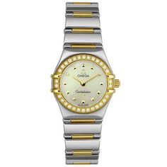 Omega Women's 1365.71.00 Constellation My Choice Diamond Mini Watch ** Check out this great image  (This is an amazon affiliate link. I may earn commission from it)