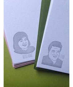 His n' Hers Notecards : Greenwich Letterpress