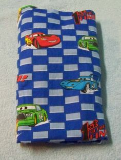 Disney Cars Flat Sheet with Fitted Bottom Toddler Bed Crib Lightning Mcqueen #Disney