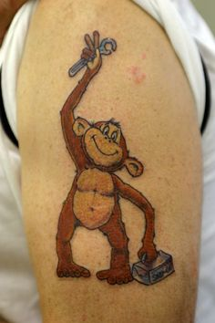 grease monkey tattoos | Grease Monkey? | Crayford Tattoo Studio