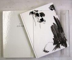辻井喬詩集《定本 沈める城》(牧羊社、1991年7月1日)の外装〔造本:川島羊三〕 Book Design, Polaroid Film