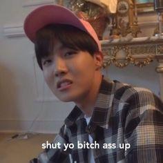j-hope / meme / bts / chino K Pop, Reaction Face, Bts Face, Bts Meme Faces, Bts Memes Hilarious, Funny Shit, Bts Reactions, Reaction Pictures, Derp