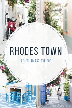 The best 10 things to do in Rhodes Town, Greece and travel tips - from travel blog: http://Epepa.eu
