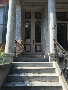 Double doors Spruce Street Philadelphia & Philadelphia PA blue door 8 glass panes urban | Philadelphia on ...