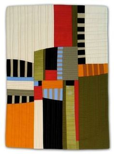 Going Up art quilt by Diane Melms