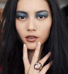 Great Ring (and eyeshadow!)