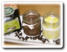 I love using Square Mason Jars for my jar candles , but you can pretty much use any jar or glass as long as the glass isn't too thin. You'll need to experiment with the wick size but I've listed th...
