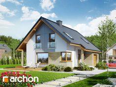 projekt Dom w żurawkach (P) widok 1