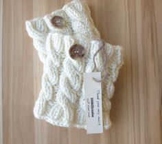 Knitted Boot Cuffs - Ivory, Gray, Black Knit Boot Cuffs - Leg Warmers - Ivory - Boot Toppers - Knit Boot Socks on Etsy, $30.00