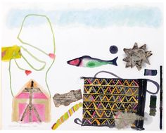 Elizabeth Blackadder - STILL LIFE WITH FISH AND...