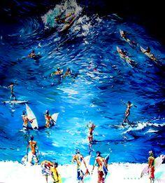 Main Beach VIIII - Ron Weideman