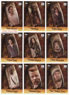 2017 Topps The Walking Dead Season 6 Factory Sealed Trading Cards Hobby Box NEW | eBay