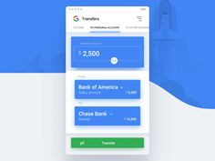 Google bank transfer flow6 by humbleteam