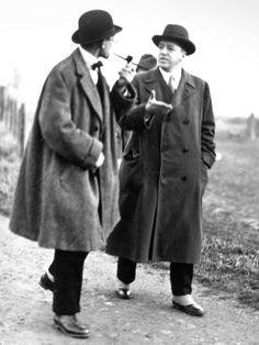 Le Corbusier and Mies van der Rohe, Weissenhof Stuttgard 1927.