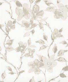 Vackert slingrande blommönster från kollektionen Livium LIV201. Klicka för att se fler inspirerande tapeter för ditt hem!