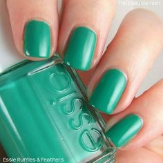 Ruffles and Feathers Nail polish Essie Other