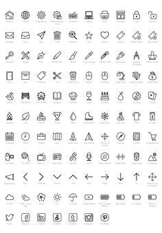 Icons Set Pour Votre Cv Cv Job Banque D Images Cv Resume Design