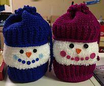 Indoor Snowball Fight pattern by Priscilla Hewitt ~ free pattern ᛡ