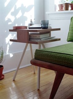 Steel Wood Table by Thom Fougere   A R T N A U