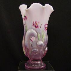 Fenton Footed Vase