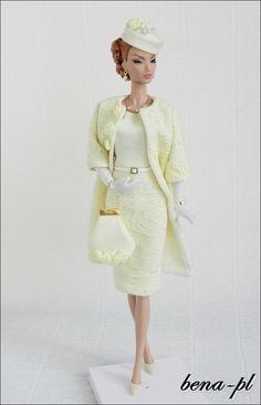 bena-pl Clothes for FR Victoire Roux, Silkstone & Vintage Barbie OOAK outfit   eBay