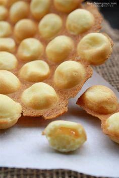 Hong Kong Style Egg Waffles @Lynna H