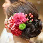 いいね!32件、コメント1件 ― Minotakaさん(@minotaka6592)のInstagramアカウント: 「⭐️和装備忘録⭐️ どーーしても本番で着たくて、前撮りを諦め🤦♀️披露宴入場のタミングで和装。 髪型は挙式と一緒なのですが、生花ヘアードをつけることで短時間で印象をガラッと変えられました。…」