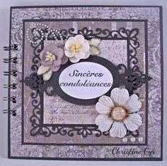 carte-album condoléances