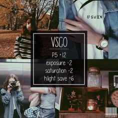 VSCO filter Probably use for a fall feed