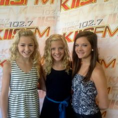 Chloe, Paige and Brooke!