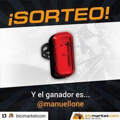 Muchas gracias @bicimarketcom   TENEMOS GANADOR! Felicidades @manuellone la luz es tuya. Escríbenos por MD para poder hacerte llegar el regalo.