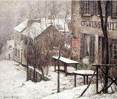 Le Lapin agile, Pierre Ernest Prins 1890